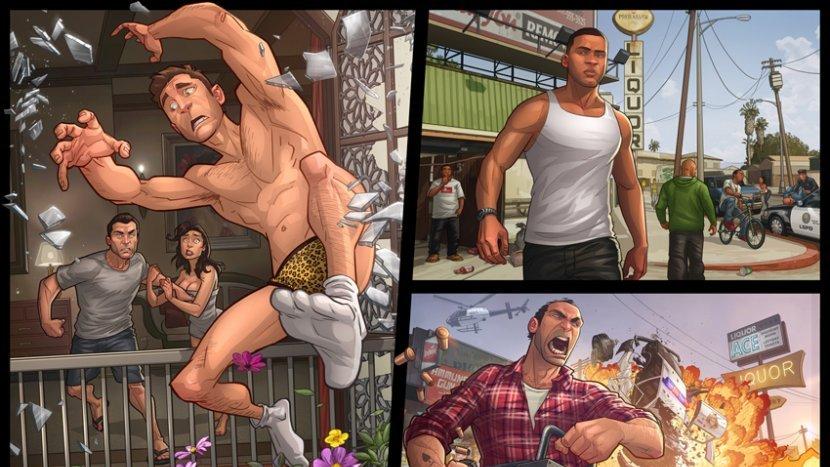 Sony анонсировала бандл PlayStation 4 с Grand Theft Auto V