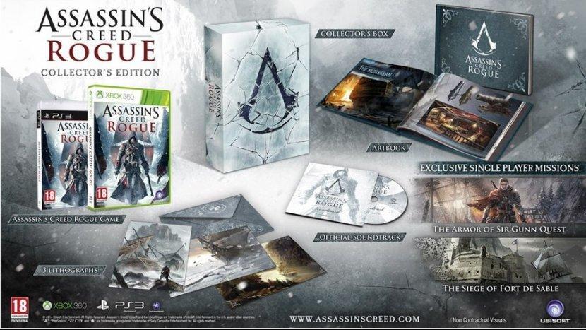 Содержание коллекционного издания Assassin's Creed Rogue