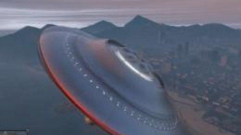 Модеры нашли способ управлять НЛО в GTAV