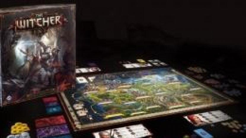 Настольная игра по вселенной The Witcher