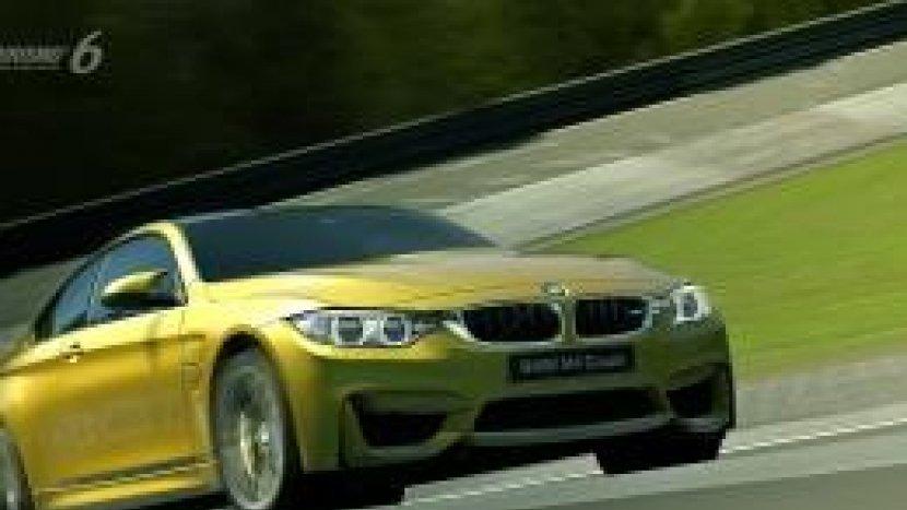 Новая BMW M4 Coupe в Grand Turismo 6