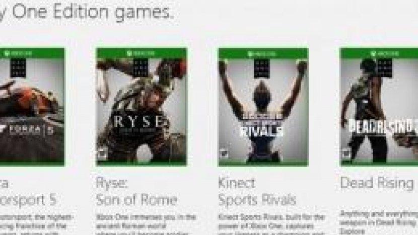 Особенности Day One-эксклюзивов для Xbox One