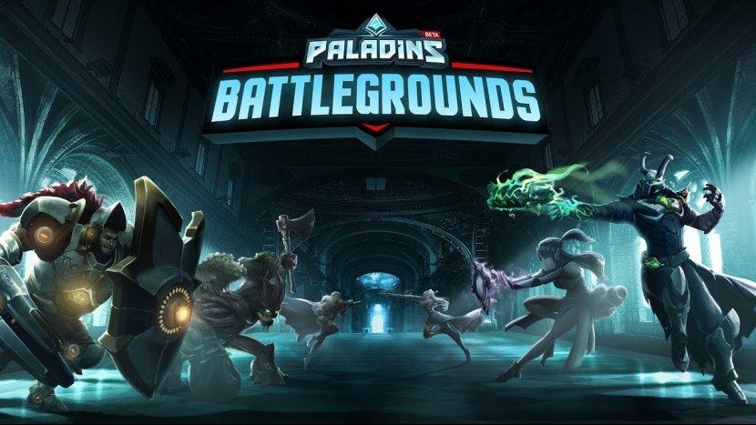 Авторы Paladins скопировали режим изPlayerUnknown's Battlegrounds