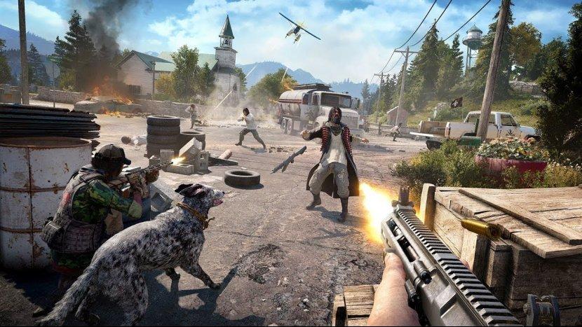 Кооперативный режим игры в Far Cry 5