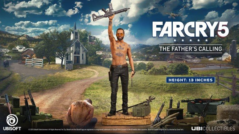 В честь Far Cry 5 компания Ubisoft выпустит эксклюзивную фигурку «Father's Calling» за 3999 рублей