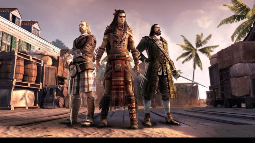 Дополнение 'Battle Hardened' для Assassin's Creed III