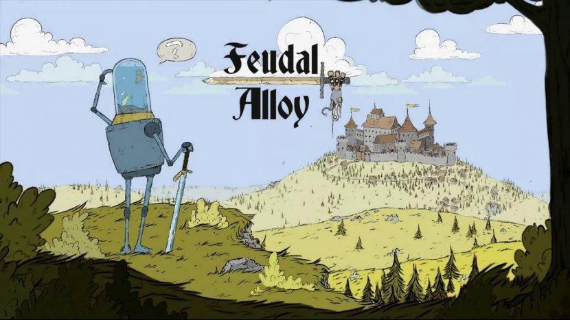 В Steam скоро появится удивительная Feudal Alloy, где рыбки будут управлять роботами