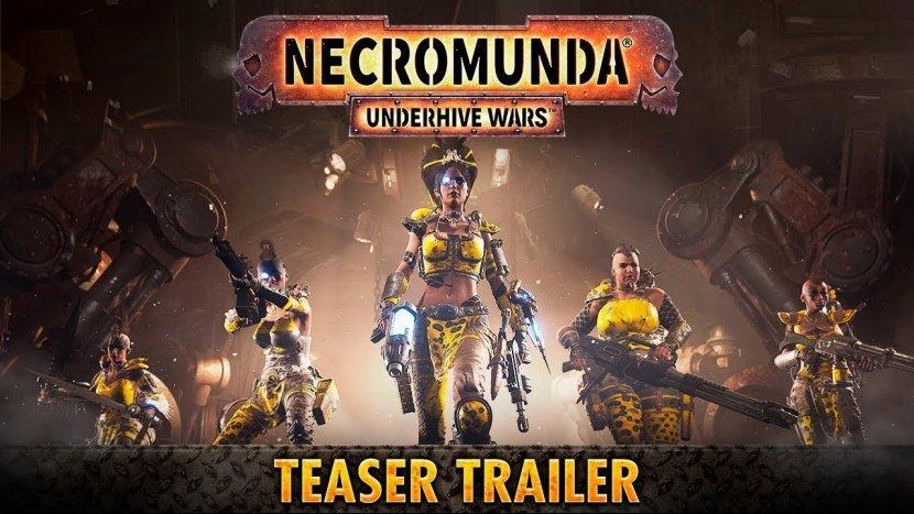 Спустя год вышел первый тизер-трейлер игры Necromunda: Underhive Wars