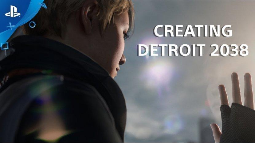 Новый трейлер с демонстрацией города в Detroit: Become Human