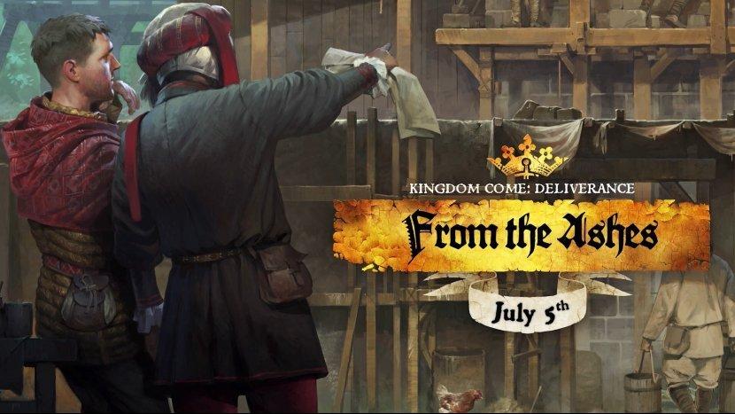 Стала известна дата выхода DLC «Из пепла» для Kingdom Come: Deliverance