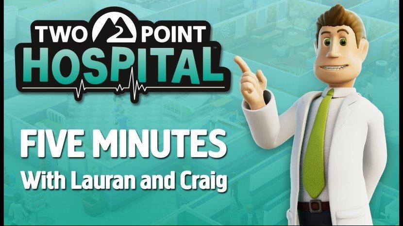 Как лечить больных и избавиться от призраков в новом ролике Two Point Hospital