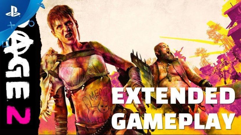 Новый геймплей RAGE 2 с выставки QuakeCon-2018