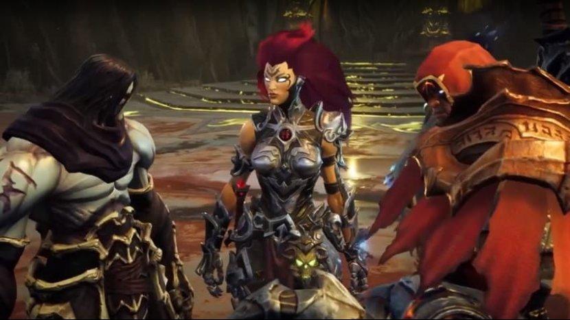 В новом трейлере Darksiders 3 появилась Смерть и Война