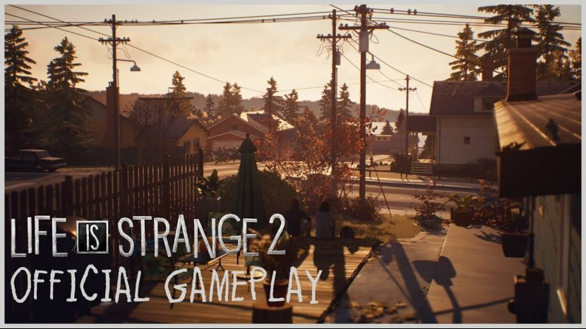 20-ти минутное прохождение Life is Strange 2 от разработчиков