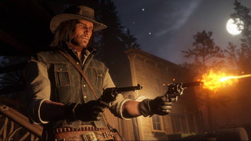 Слитые трофеи и патч первого дня Red Dead Redemption 2