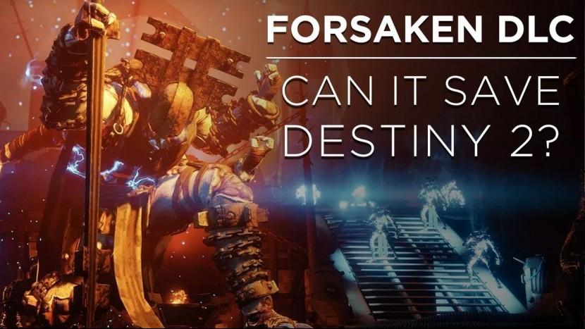 DLC Forsaken для Destiny 2 не оправдывает ожиданий разработчиков