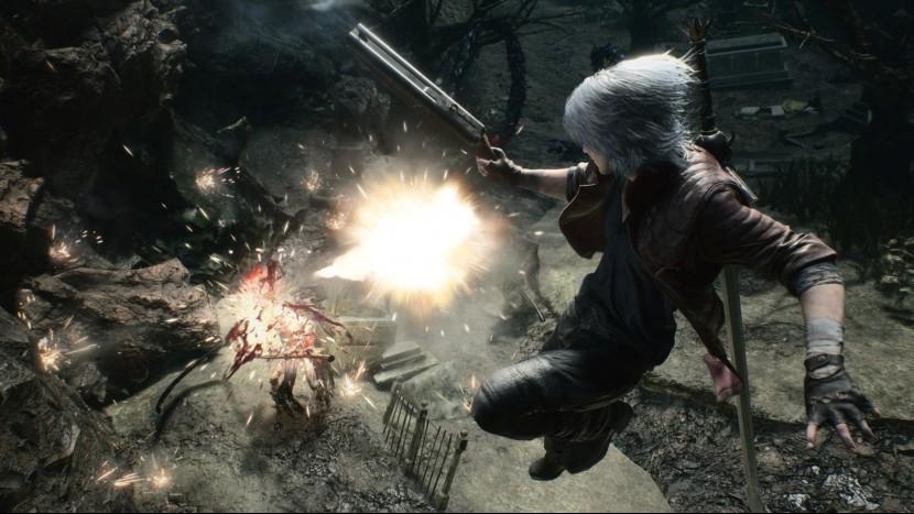 Немного геймплея за Данте в Devil May Cry 5