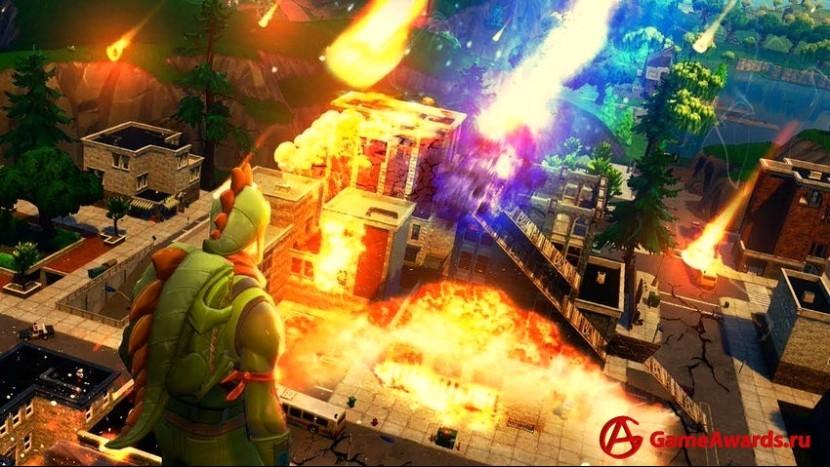 Игрокам понравилась песочница в Fortnite