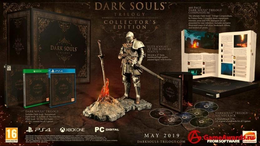 К выходу готовится дорогое коллекционное издание по Dark Souls