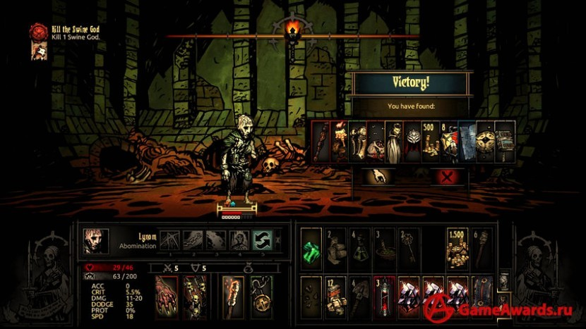 Анонс Darkest Dungeon 2
