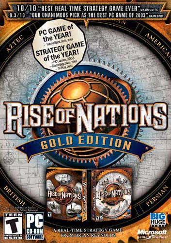 Rise of Nations -- Gold Edition