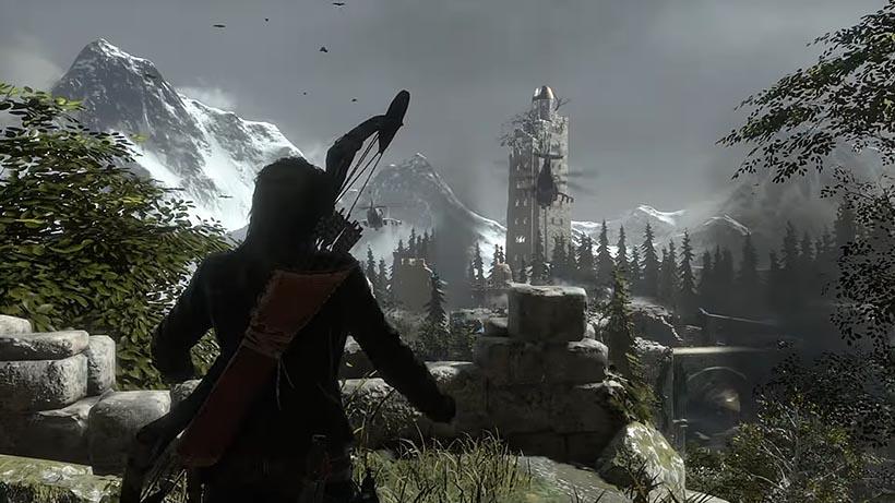Rise of the Tomb Raider акрополь прохождение