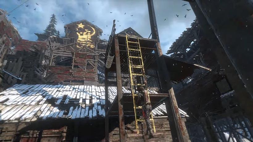 Rise of the Tomb Raider снова одна прохождение