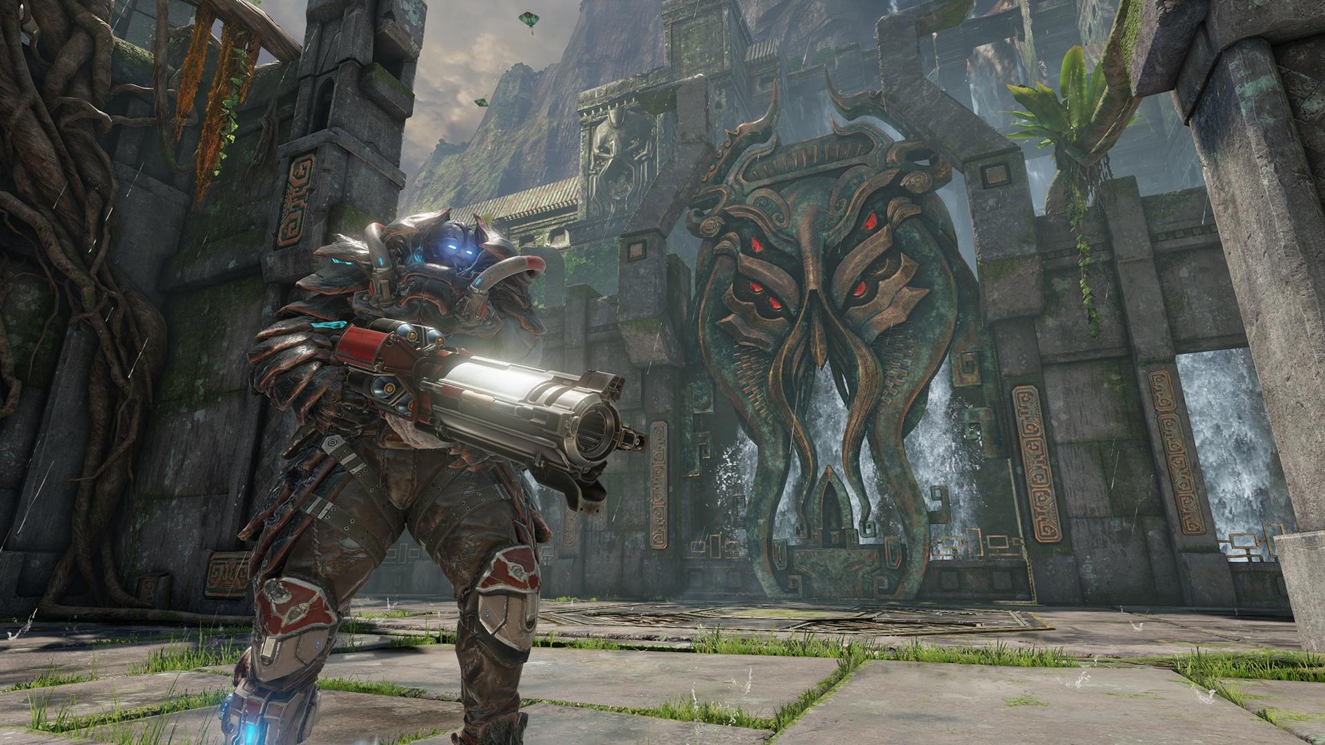 Champions, новые скриншоты идата бета-тестирования— 1-ый геймплей Quake