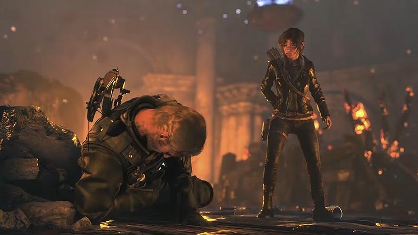 Rise of the Tomb Raider сражение с константином прохождение