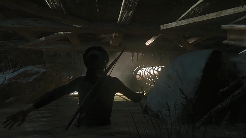 Rise of the Tomb Raider побег из тюрьмы прохождение