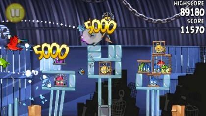 Скриншоты Angry Birds Rio