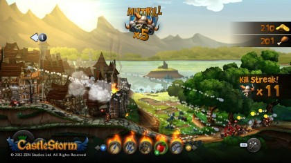 Скриншоты CastleStorm
