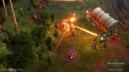 Скриншоты Pathfinder: Kingmaker