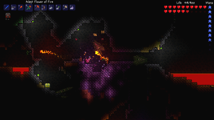 Скриншоты Terraria
