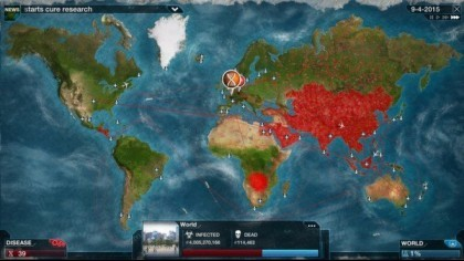 Скриншоты Plague Inc. Evolved