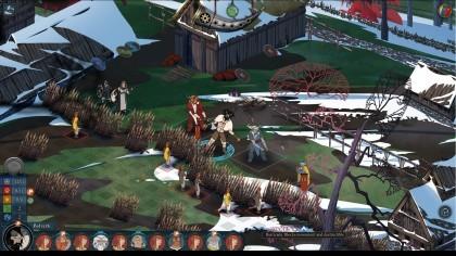 Скриншоты The Banner Saga 2