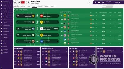 Скриншоты Football Manager 2019